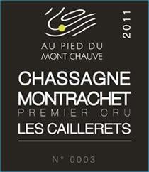 Chassagne-Montrachet 1er Les Caillerets