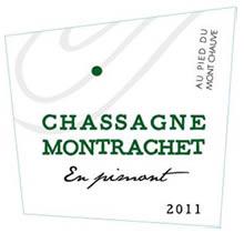 Chassagne-MontrachetEn Pimont